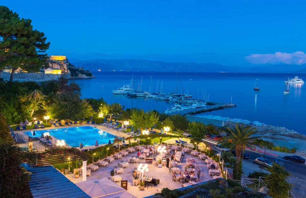 Corfu Palace Hotel Town Greece Deals