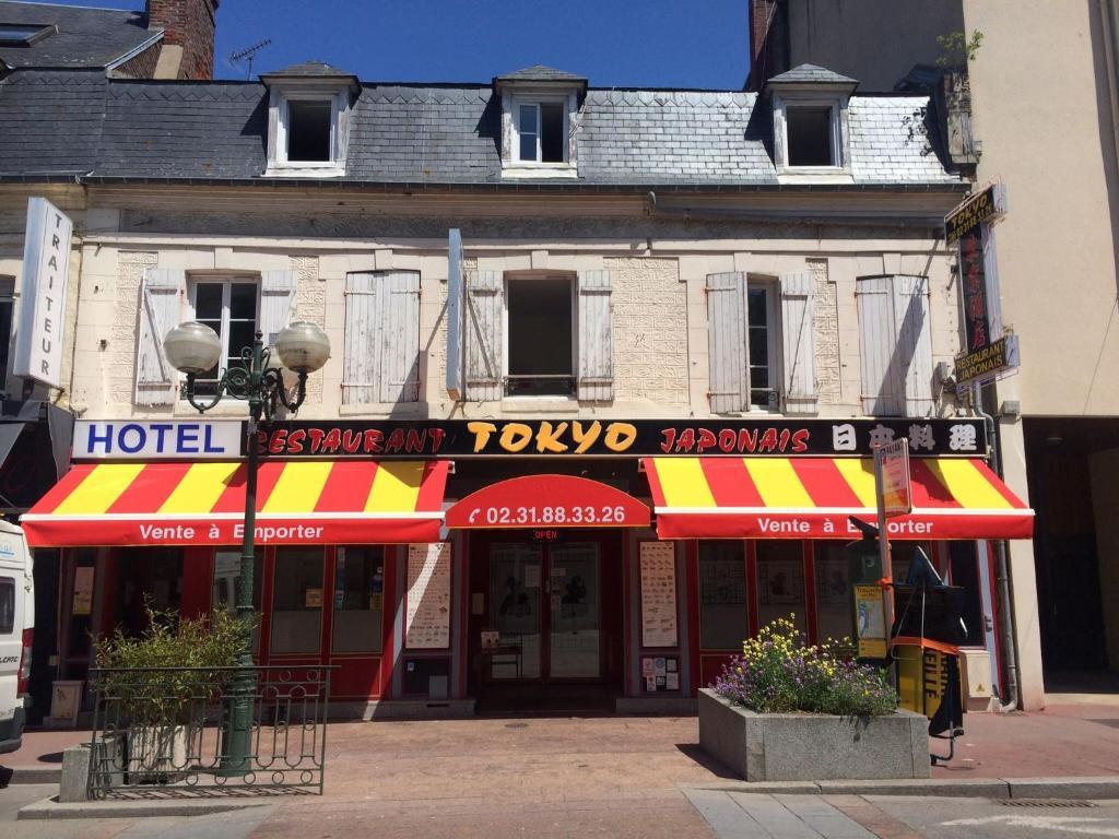 Hotel restaurant tokyo france trouville sur mer for Hotel francs tokyo