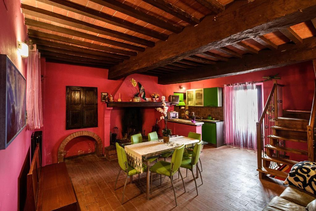 Appartement La Casa Dei Colori (Italië Radicondoli ...