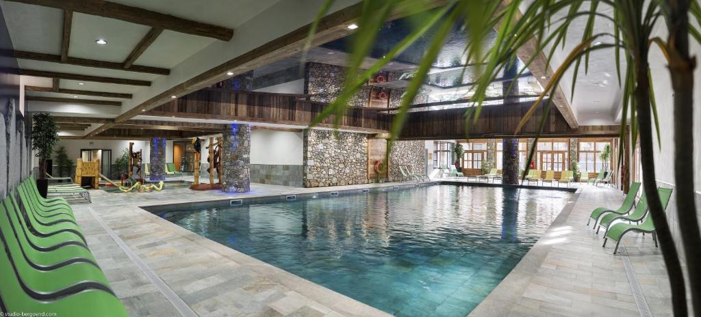 The swimming pool at or near CGH Résidences & Spas Kalinda