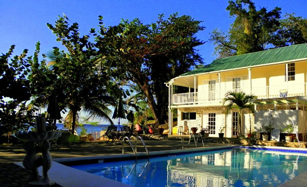 Ocean Shell Villa Port Antonio Jamaica Booking Com