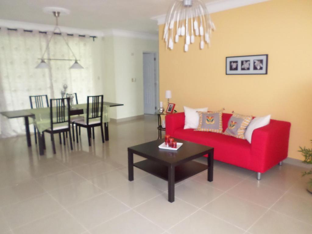 A Seating Area At Casa Villa Bonita Guest House