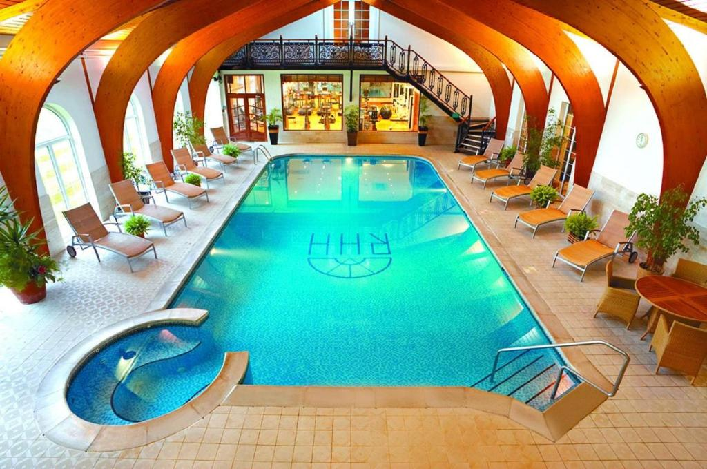 The swimming pool at or close to Rowton Hall Hotel and Spa