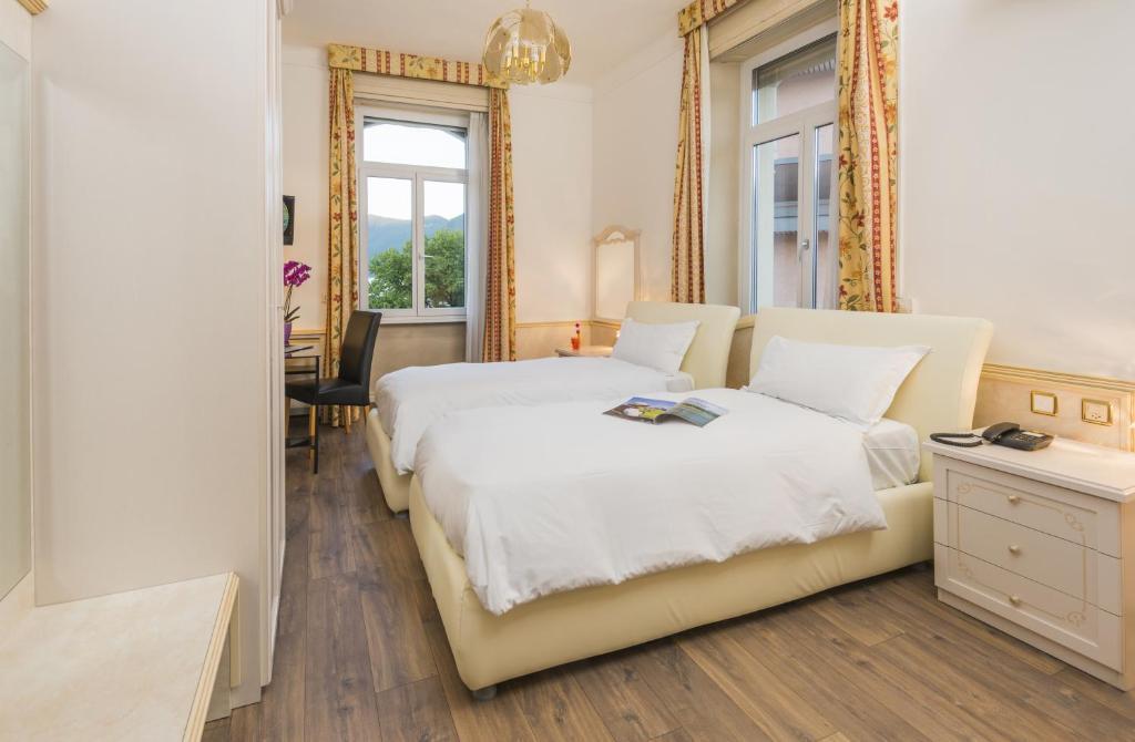 Camere Familiari Lugano : Hotel victoria lugano u prezzi aggiornati per il