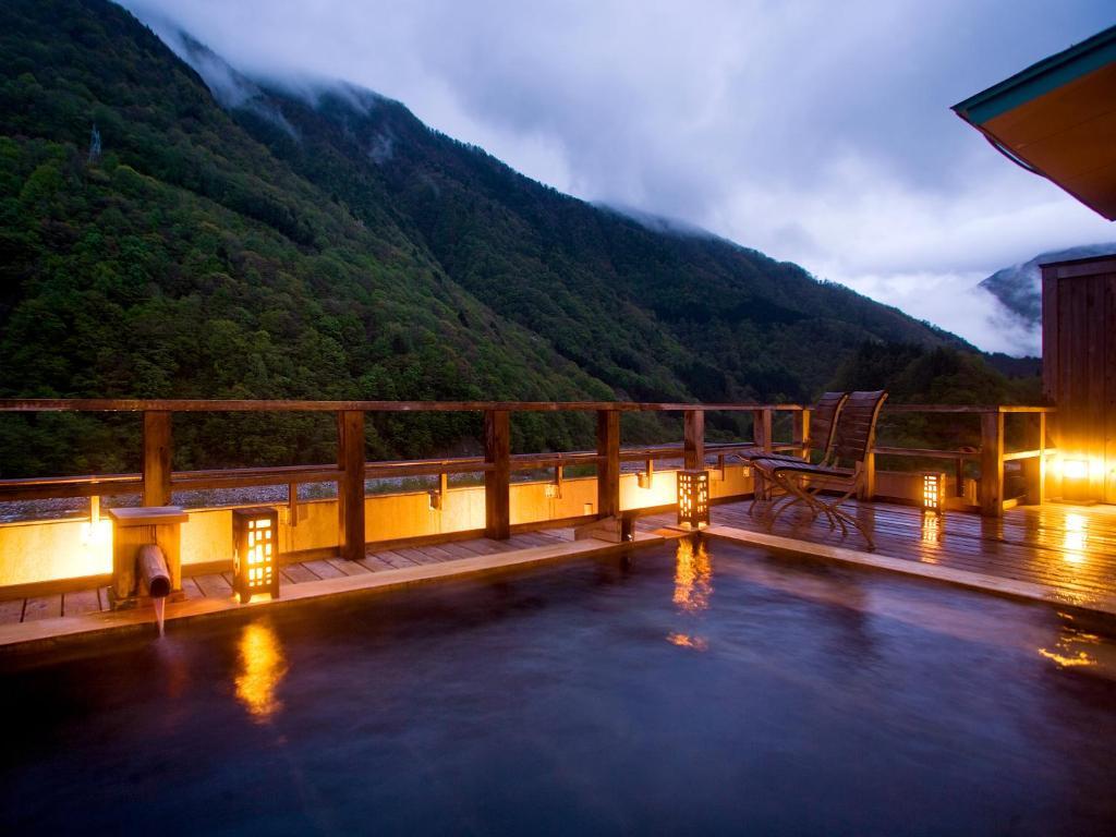 ポイント3.プライベート感たっぷりの天然温泉