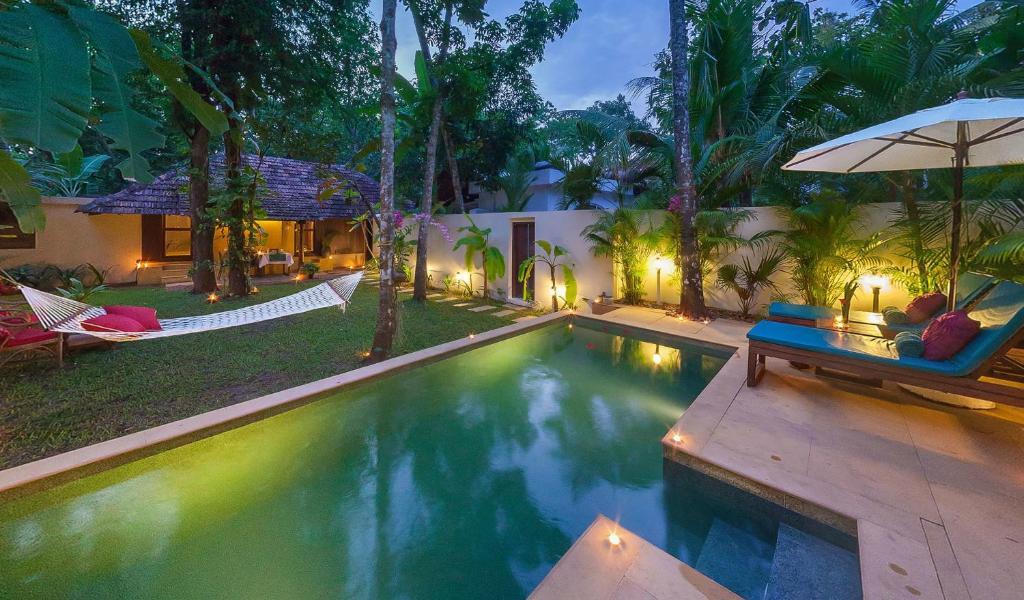 Marari villas private pool villas mararikulam india Hotels in coorg with swimming pool