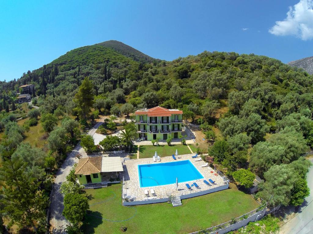 Άποψη από ψηλά του Vliho Bay Suites & Apartments