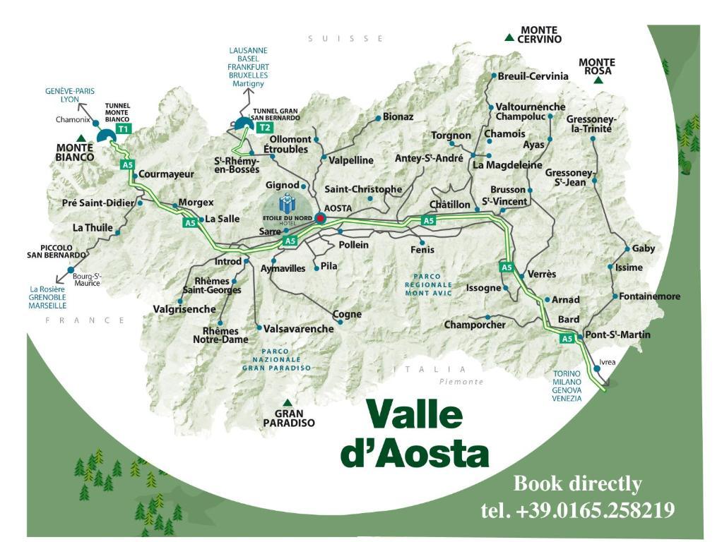 Hotel Etoile Du Nord Aosta Italy Bookingcom