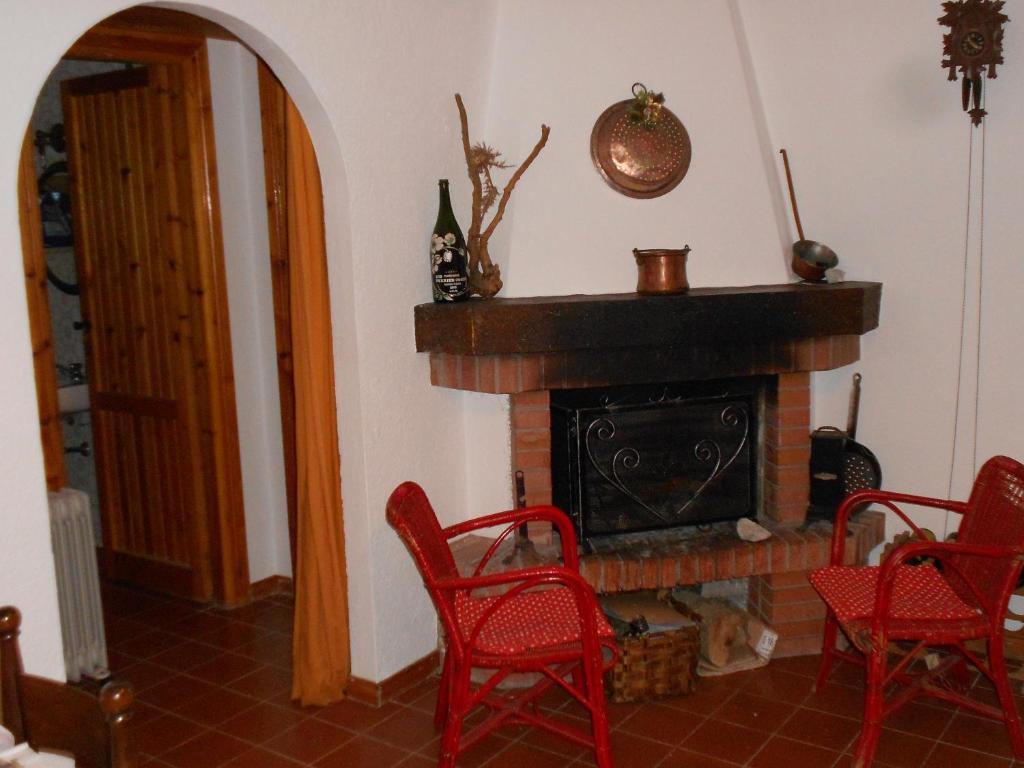 Area soggiorno di Appartamento Roccione