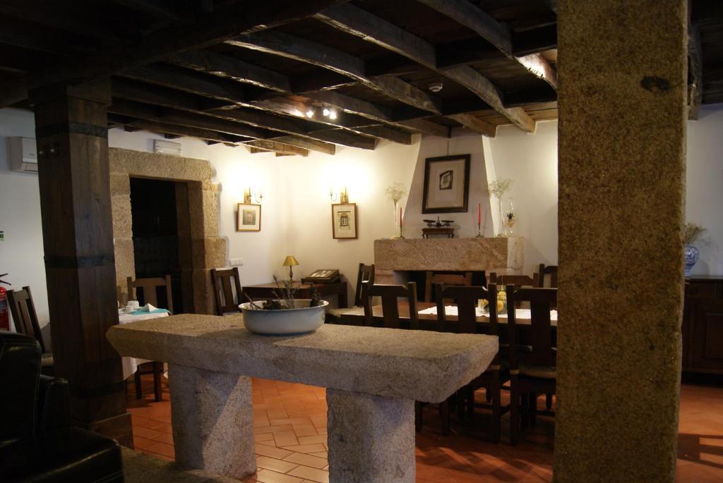 A bathroom at Casa d'Acha