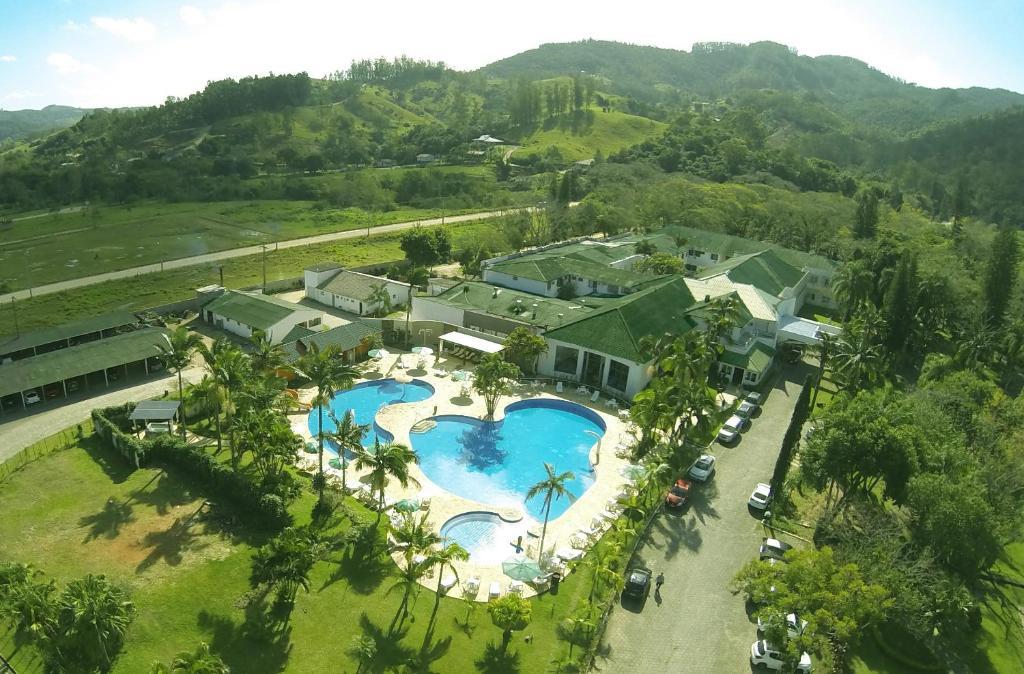 A bird's-eye view of Hotel Termas