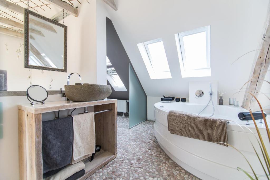 Merveilleux Ein Badezimmer In Der Unterkunft Businesssuite