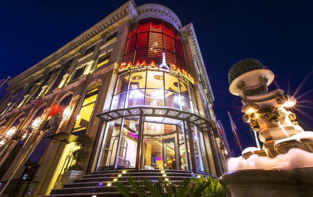 Sama Paris Hotel Jordanien Amman Booking Com