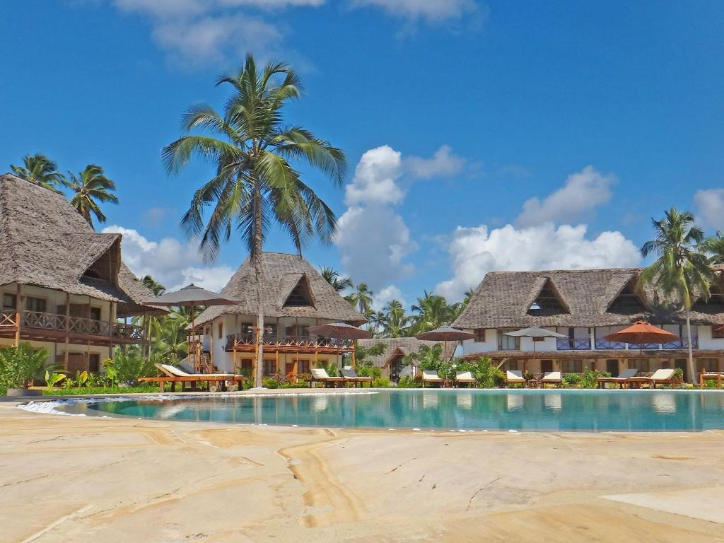 The swimming pool at or near Pongwe Bay Resort