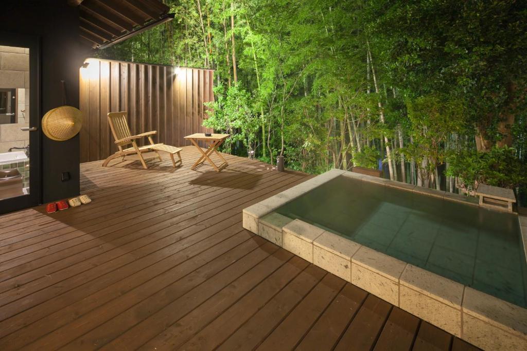 ポイント3 源泉かけ流しで楽しむ月ヶ瀬温泉