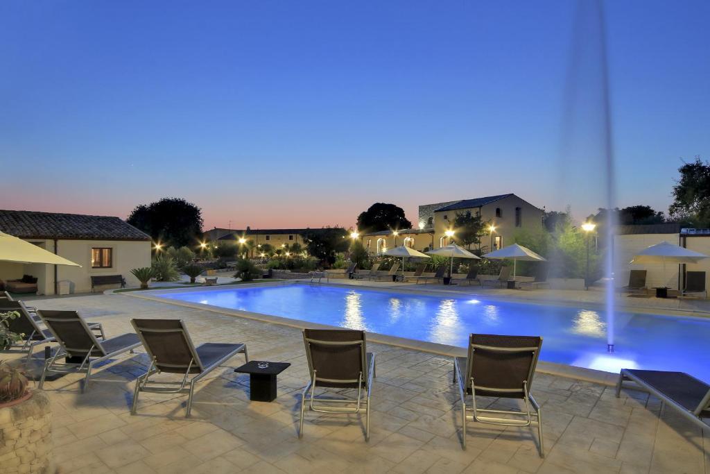 The swimming pool at or near Artemisia Resort