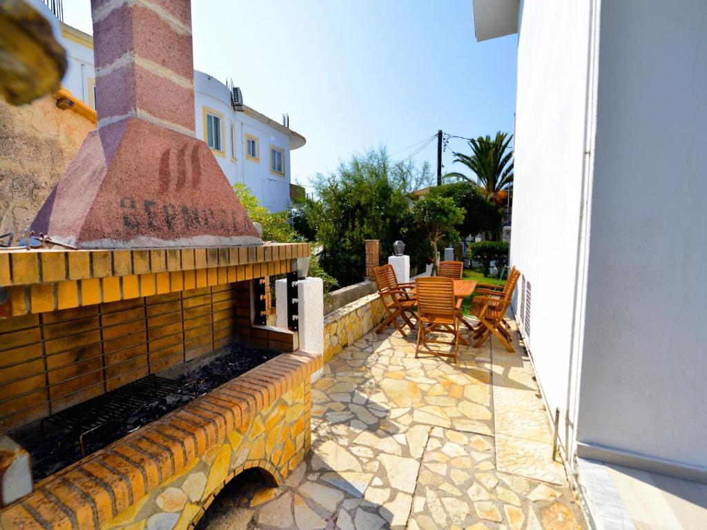Недорогой дом в Агиос Георгиос с видом на море