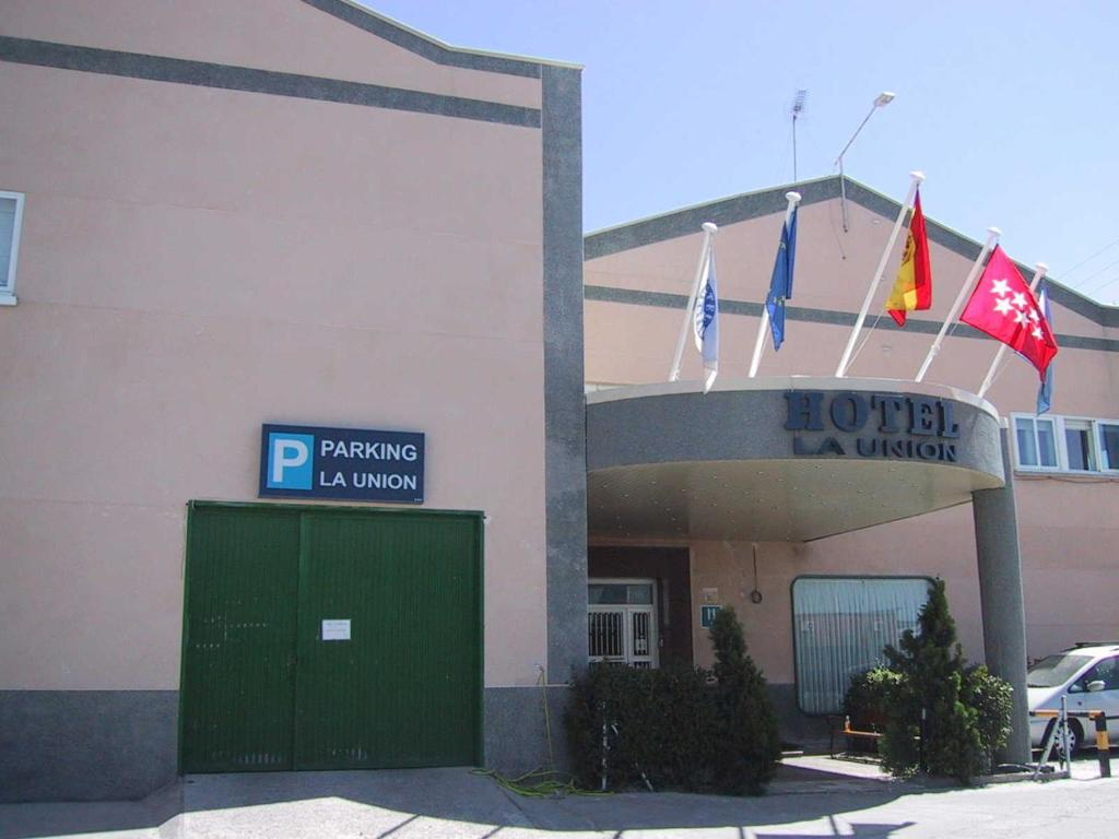 Hotel La Union (Spanje Humanes de Madrid) - Booking.com