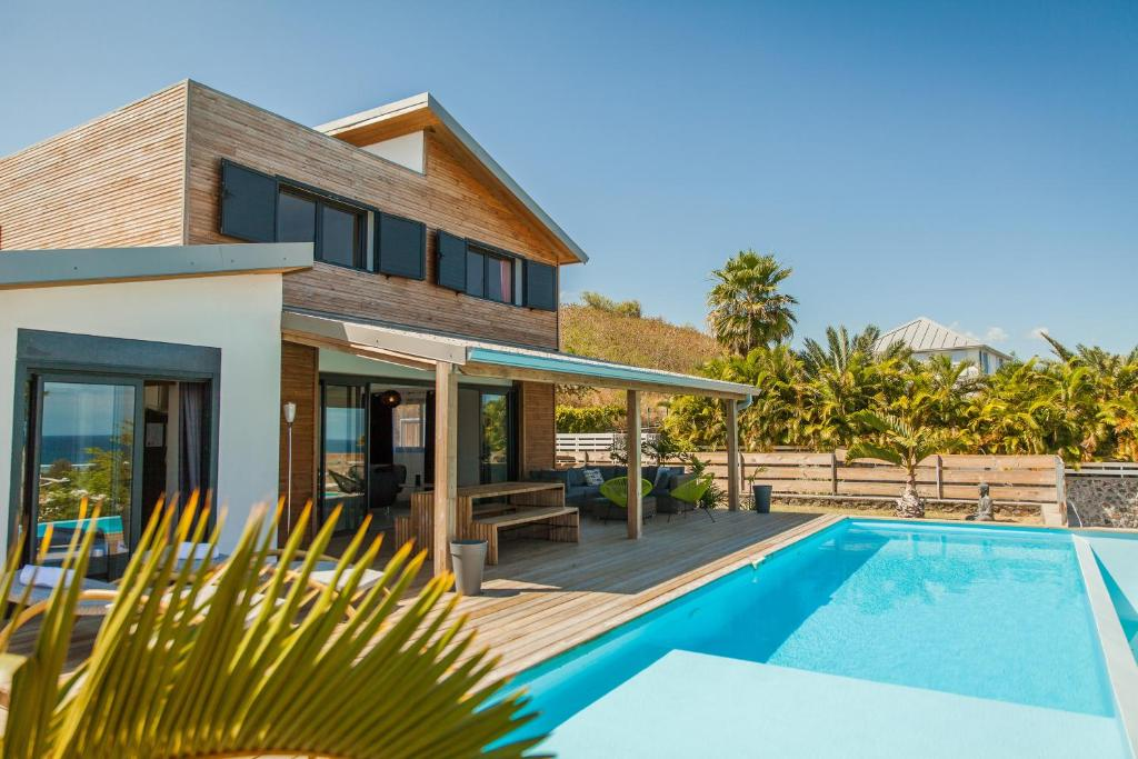 villa ecrin de bourbon la saline les bains tarifs 2018. Black Bedroom Furniture Sets. Home Design Ideas
