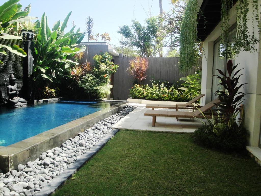 Piscina en o cerca de Vlad Bali Villa