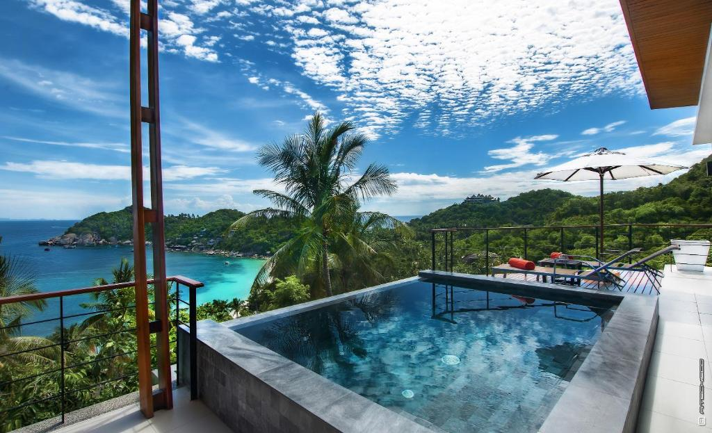 Villas del sol koh tao ko tao updated 2018 prices for Koi pool villa koh tao