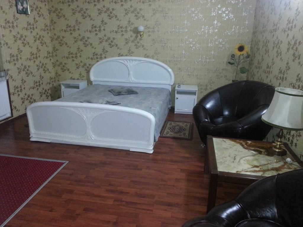 A bathroom at G&C