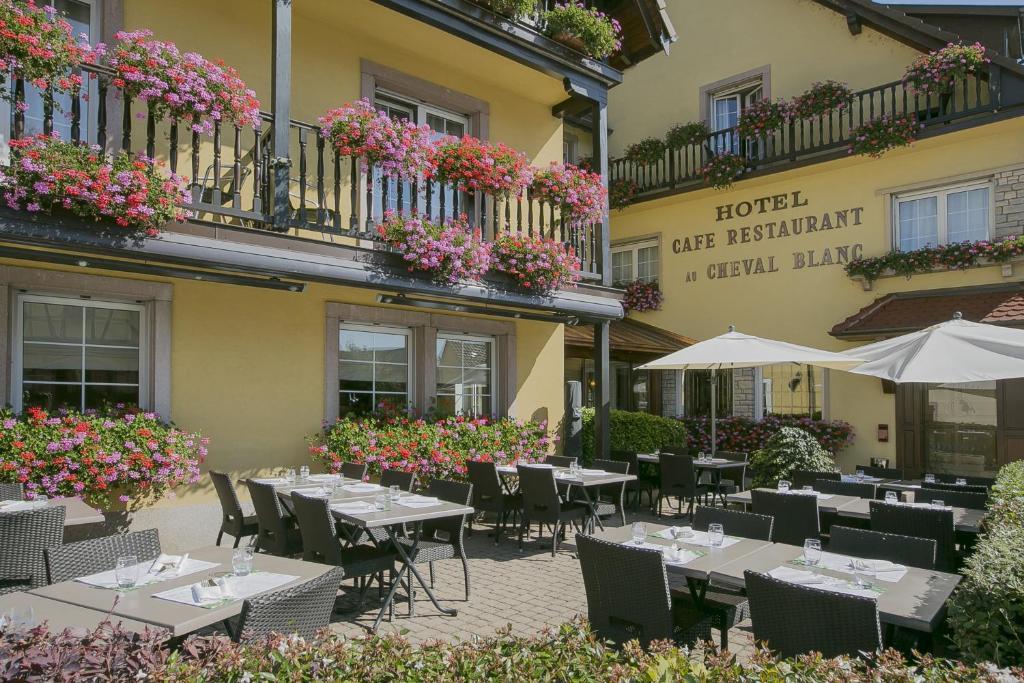 Mulhouse Frankreich best hotel au cheval blanc frankreich baldersheim