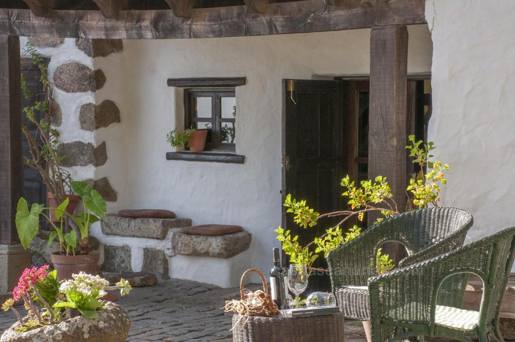 A porch or other outdoor area at Las Mondonadas