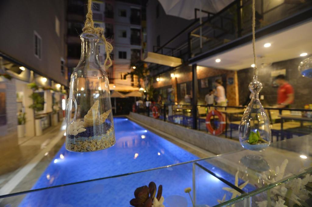 The swimming pool at or near Beautiful Saigon Boutique Hotel