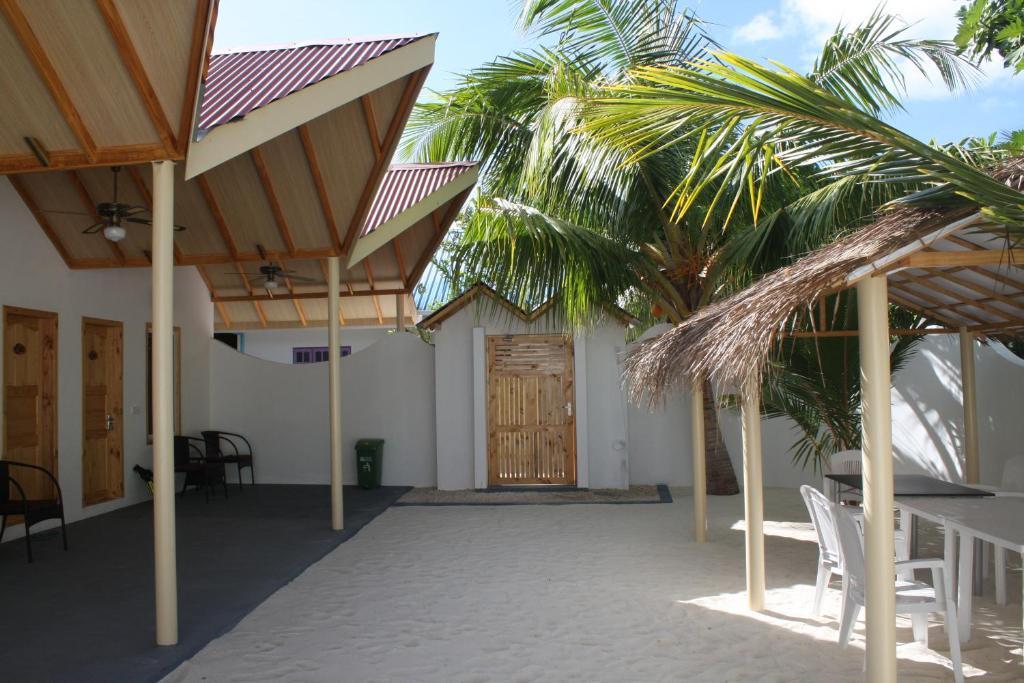 Relax Residence Thoddoo Maldives красивый номер