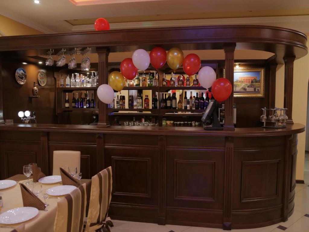 Лаундж или бар в Гостиница Артик