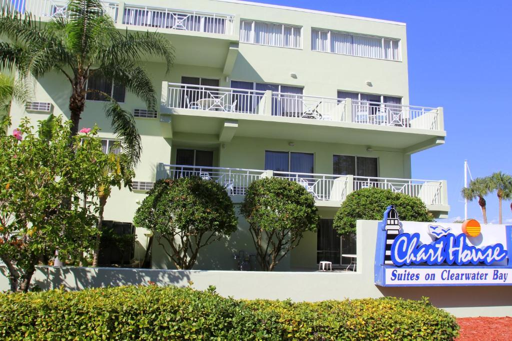 Motel Chart House Suites Clearwater Beach Fl Booking