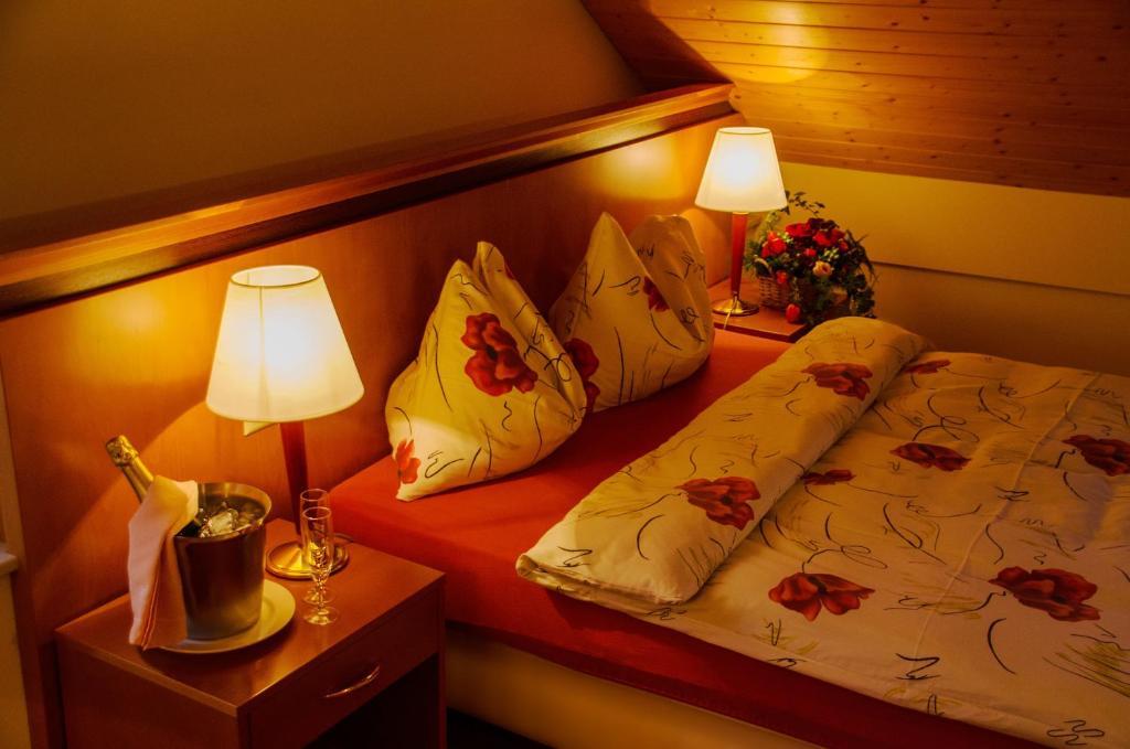 Un ou plusieurs lits dans un hébergement de l'établissement Auberge Communale à l'Union