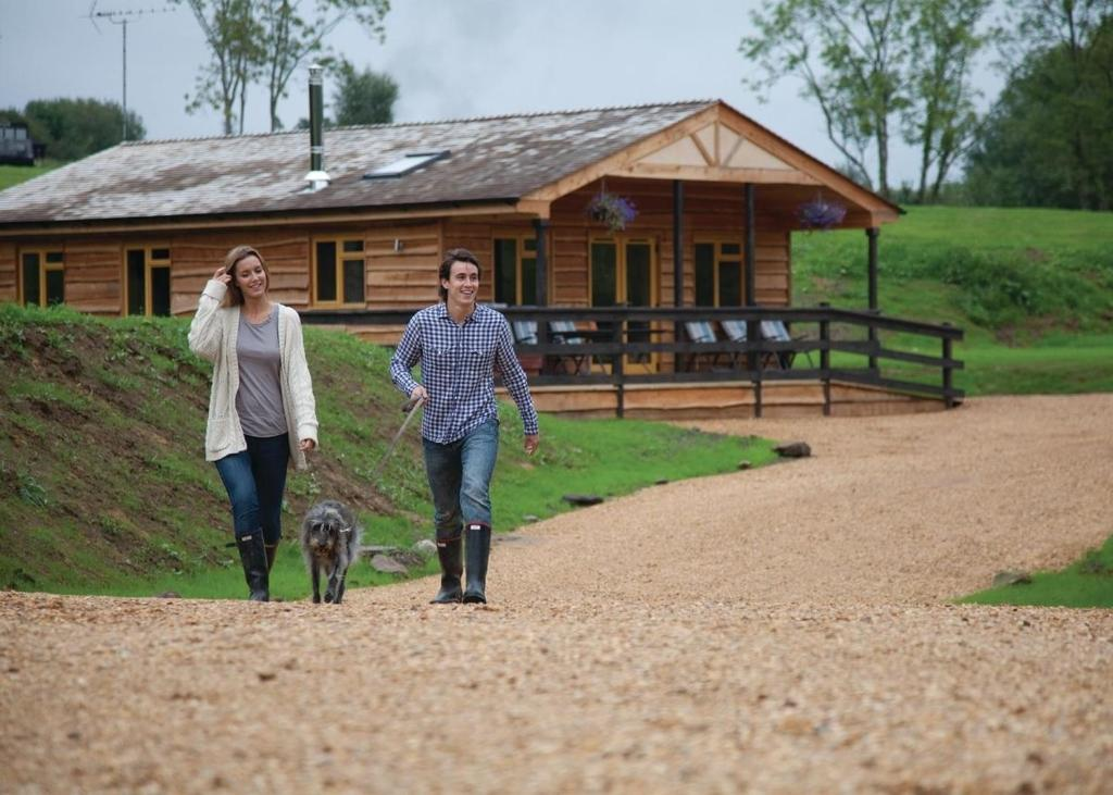 Cosy cabins where pets are welcome