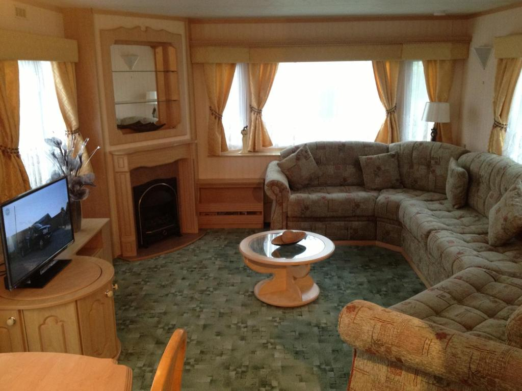 The lounge or bar area at Northshore Private Caravan Rental