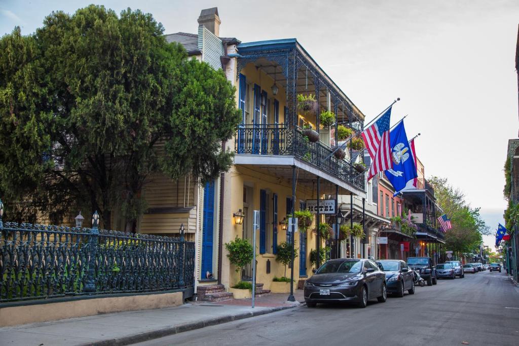 Andrew Jackson Hotel French Quarter.