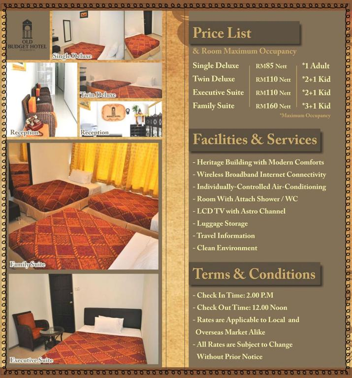 Old Budget Hotel George Town Malaysia