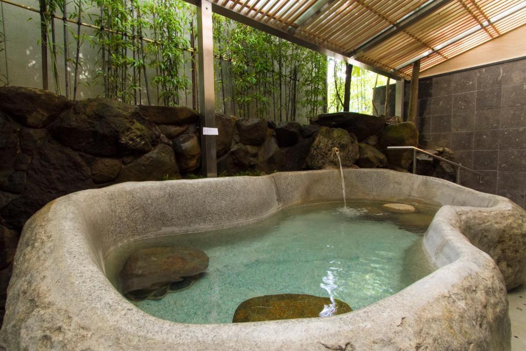 ポイント3.種類豊富な温泉施設