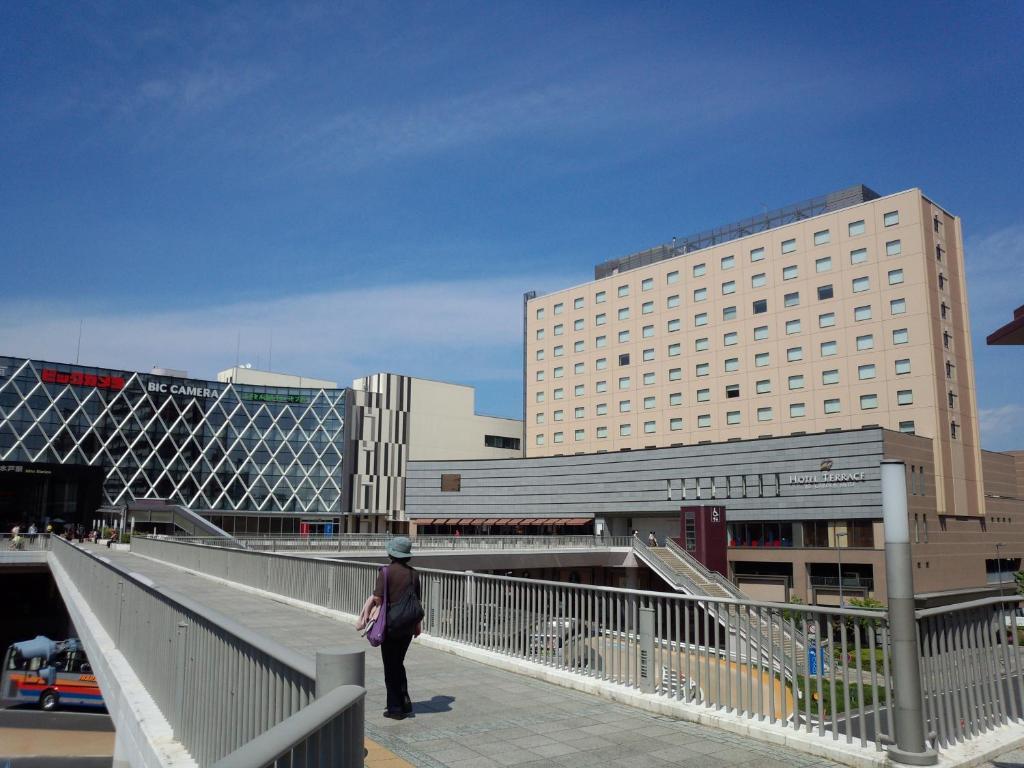ポイント1.水戸駅すぐ隣の便利な立地