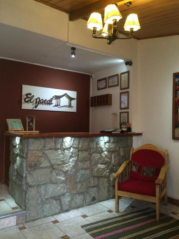 The lobby or reception area at El Jacal Classic