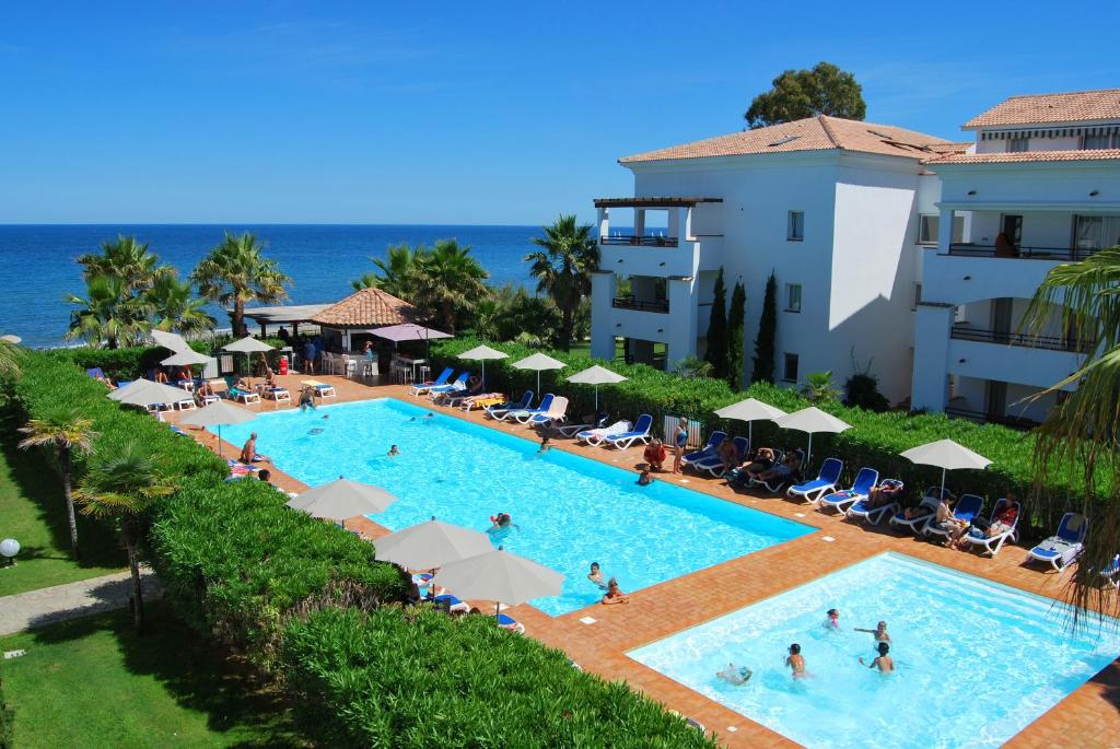A view of the pool at Lagrange Grand Bleu Vacances – Résidence Sognu di Rena or nearby