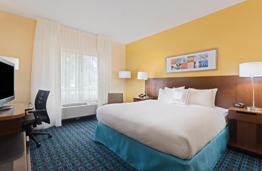 Fairfield Inn And Suites By Marriott Tampa Brandon USA Rooms