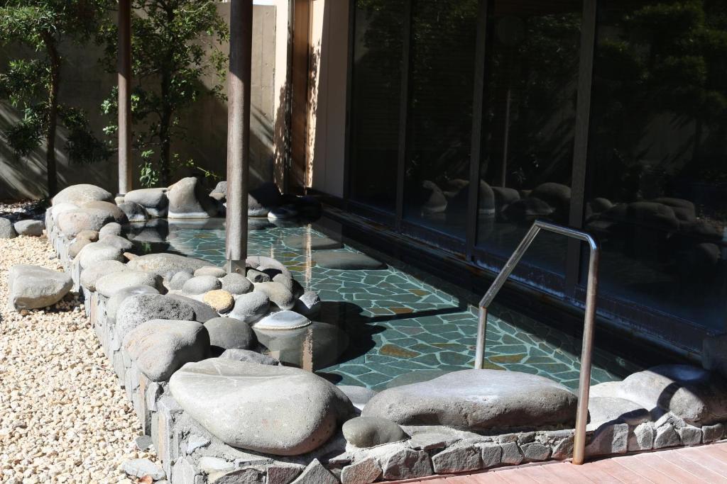 ポイント2.波打ち際にある大浴場