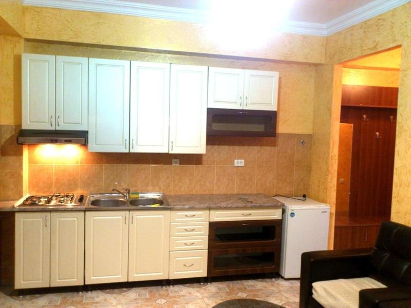 A kitchen or kitchenette at Apartment Mepe 140