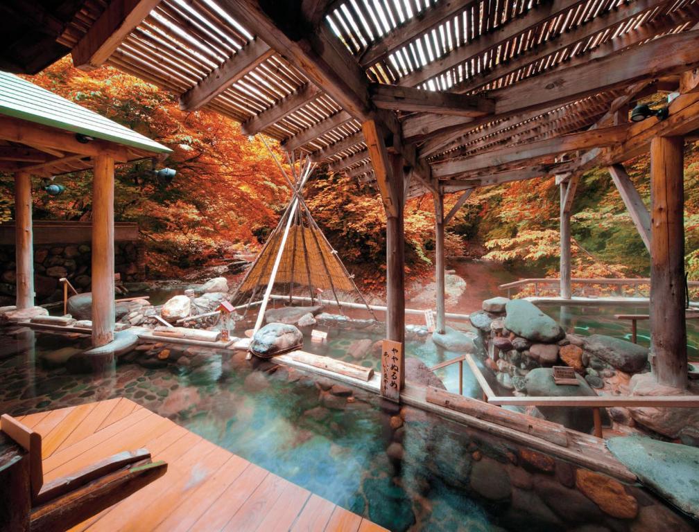 ポイント1.8つの温泉