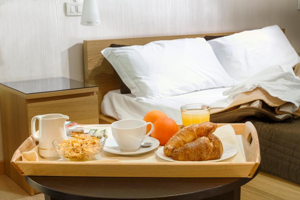 Colazione disponibile per gli ospiti di Hotel Del Viale