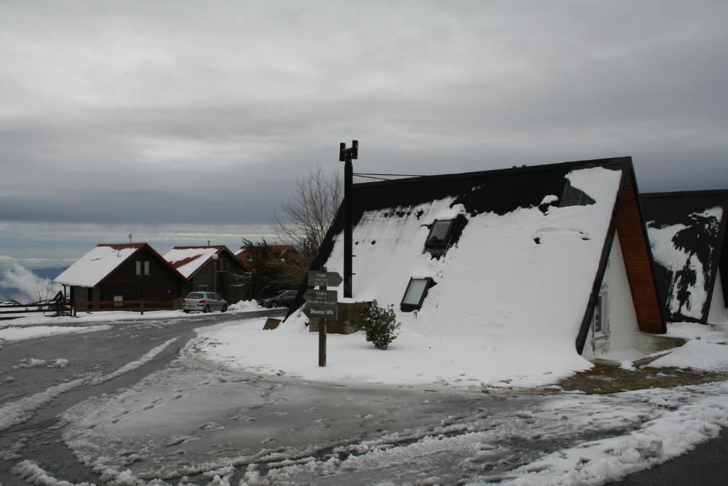 Bangaló in Serra da Estrela during the winter