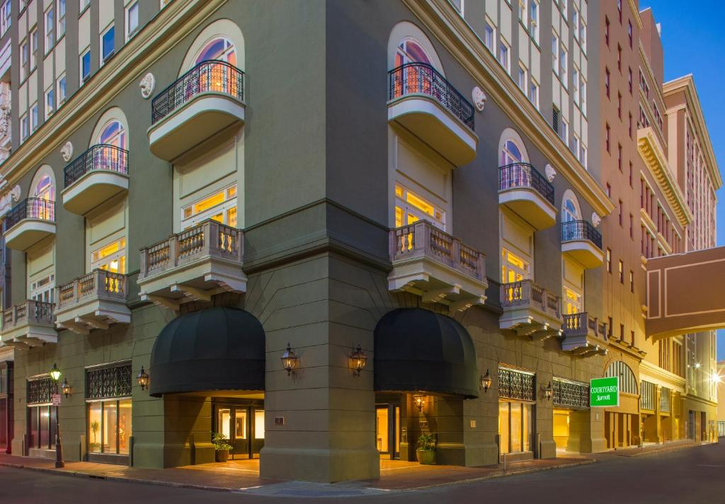 Marriott New Orleans Map.Hotel Courtyard By Marriott New Orleans La Booking Com