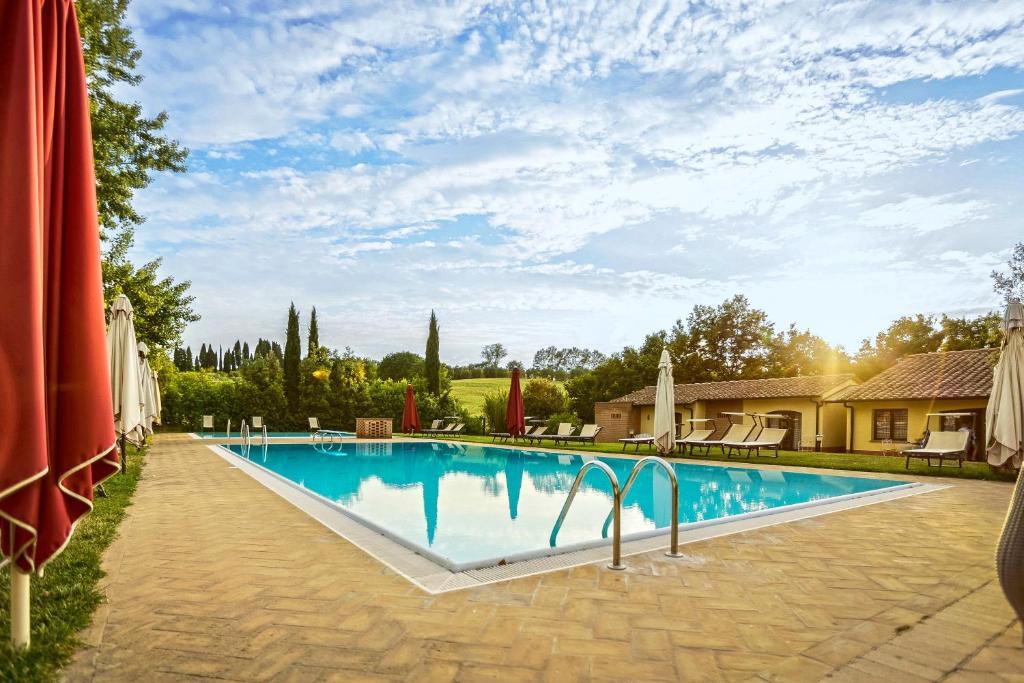 The swimming pool at or near La Sorgente