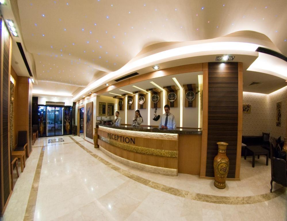 Zona de hol sau recepție la Marlight Boutique Hotel